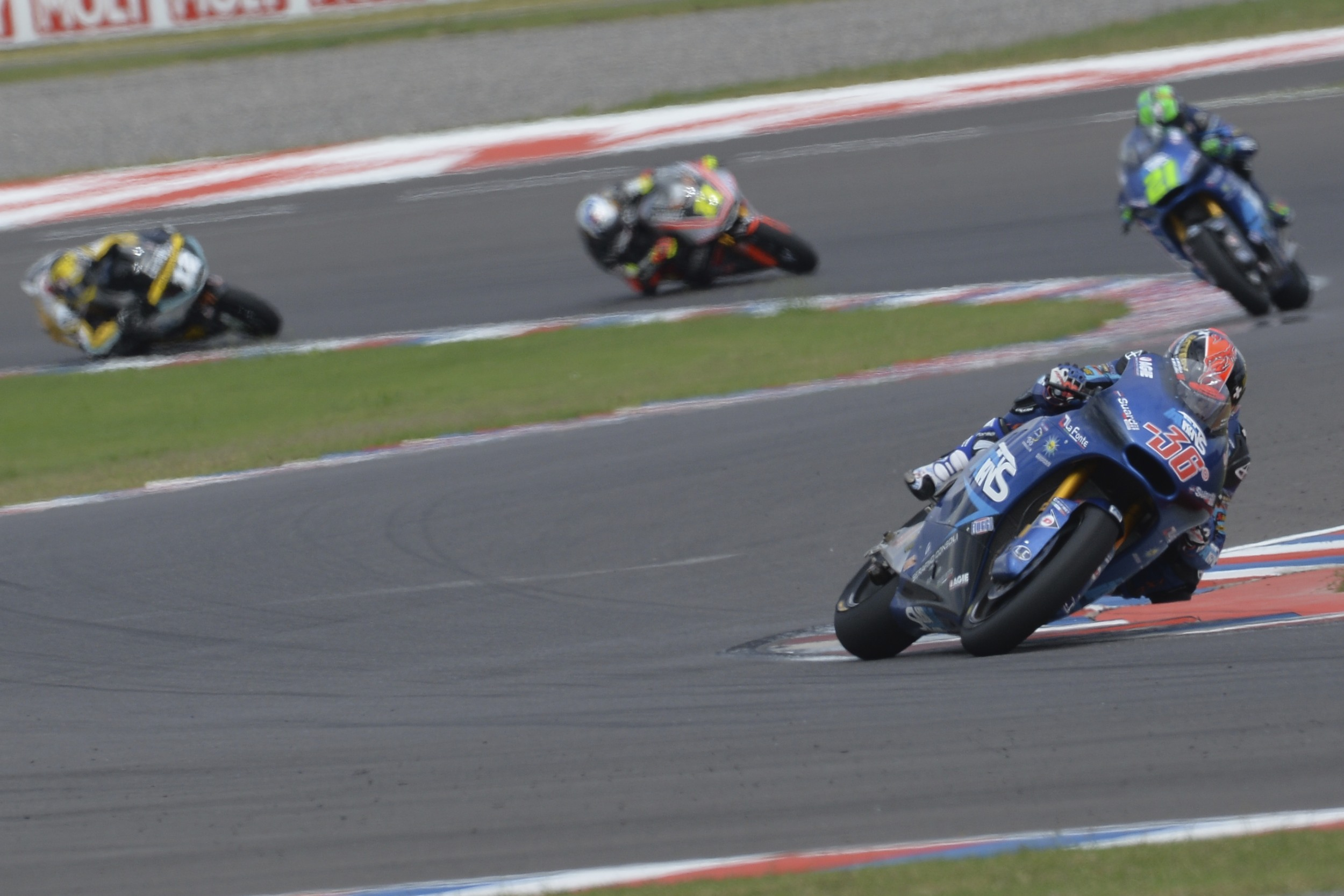 Kallio and Morbidelli, GP Argentina, race