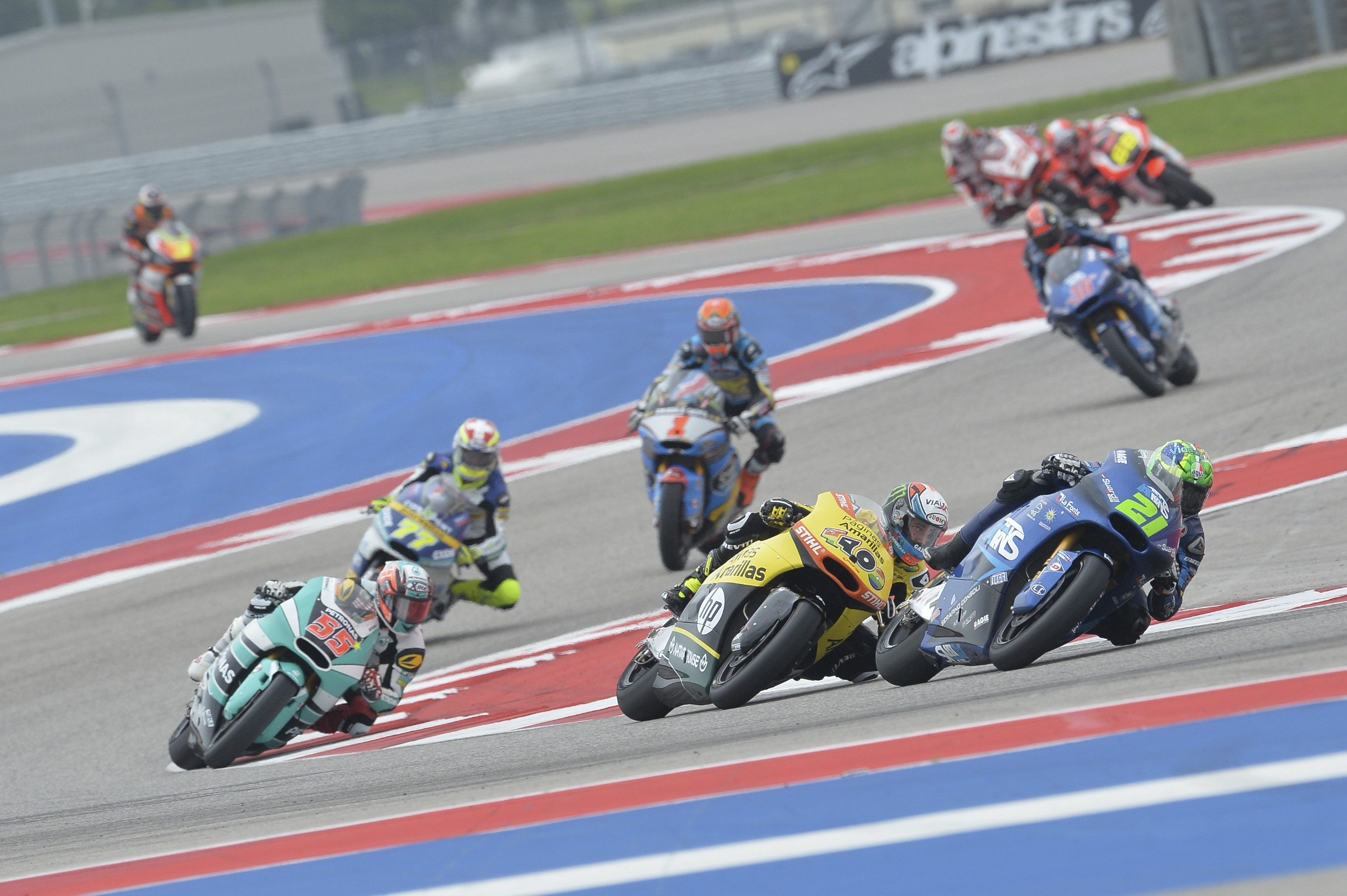 Morbidelli - Texas race